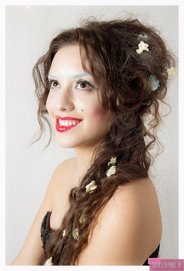 Producción Fantasía SUTILEZA MAKE UP  Modelo: Patricia Yudica  Ph: Nice View  Maquilladora: Lucía Belén González para Sutileza Make Up  Estilista: Alan Huerrau para PinPap