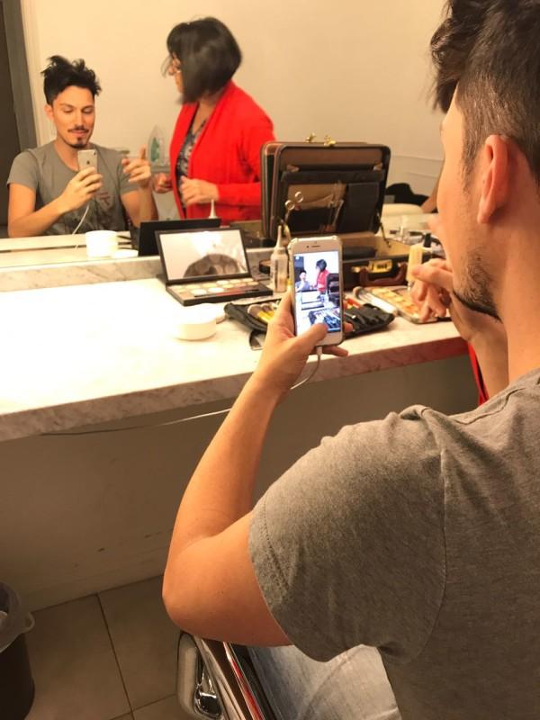 Maquillaje para  Producción Fotográfica Estudio Machado-Cicala