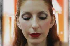Maquillaje realizado por Vicky Vovchuk, inspirado en maquillaje de epoca