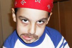 "Maquillaje infantil, ""Pirata"""