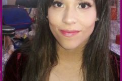 Maquillaje de día.  #Modelo: Karen A. #MakeUp y #Peinado: Yanina Sigaloff.