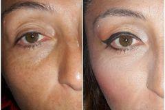 Maquillaje para evento social. Antes y después.  #Modelo: Carolina. #MakeUp : Yanina Sigaloff.
