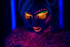 Maquillaje Fluo