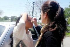 Maquillaje para producción fotográfica