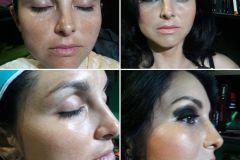 Maquillaje: Smokey Eyes Evento: 20 años egresados Colegio Nacional Santiago del Estero Cliente: Claudia Santillán