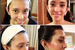 Maquillaje 15 años Cliente: Eugenia Paz López