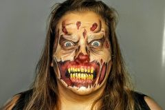 Facepainting - Zombie!