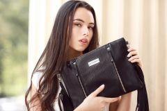 Beauty para produccion campaña Aitana Bags (publicado en medios locales, webs y revistas)