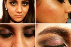 Maquillaje: Social Noche Cliente: Larisa Venturini Lugar: Santiago del Estero