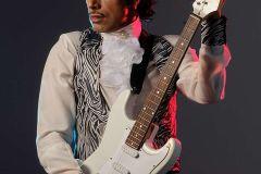 Prince en Martín Bossi.  Caracterización de Imitación sin prótesis