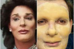 Maquillaje de Imitación sobre prótesis