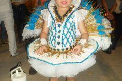 Maquillaje de carnaval infantil realizado en la ciudad de Corrientes