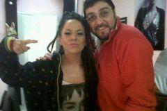Producción junto a Miss Bolivia