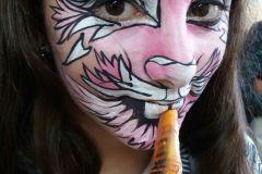 Maquillaje Infantil - conejita