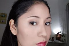 make up despues Silvia