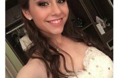 Make up para quinciañera.