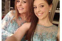 Make up para madrina y hermana de quinciañera