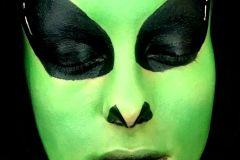Maquillaje artístico de ALIEN