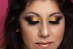 Makeup Social// Tonos tierra y dorados//
