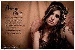 Maquillaje producción homenaje a cantante Amy Winehouse