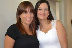 novia peinado y maquillaje